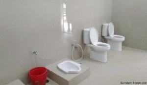 toilet tanpa sekat