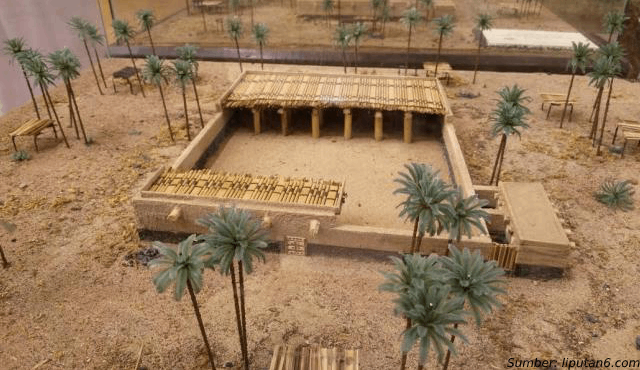 5 Potret Asli Rumah Nabi Muhammad Saw yang Sangat Bersahaja