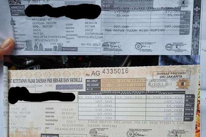 tarif pajak progresif mobil