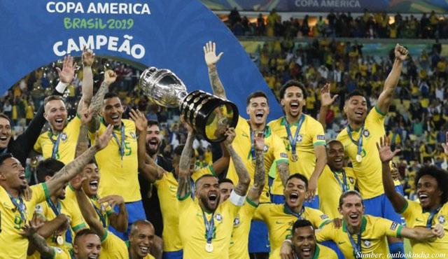 brasil juara copa america