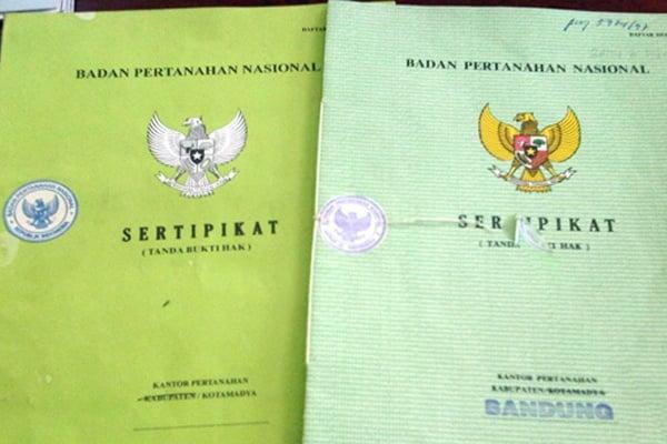 cara membuat sertifikat tanah