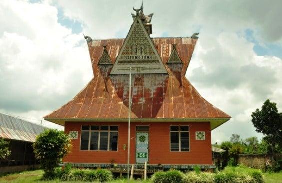rumah adat angkola