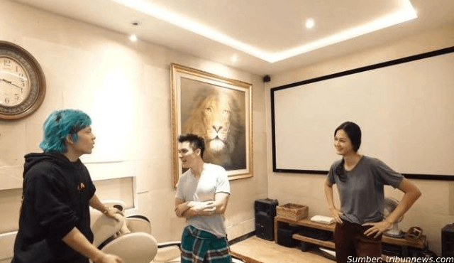 Inspirasi Hunian Gaya Rustic dari Rumah Baim Wong | Wah, Bisa Semegah Ini!