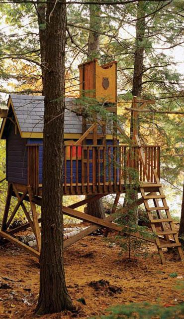 membuat rumah pohon