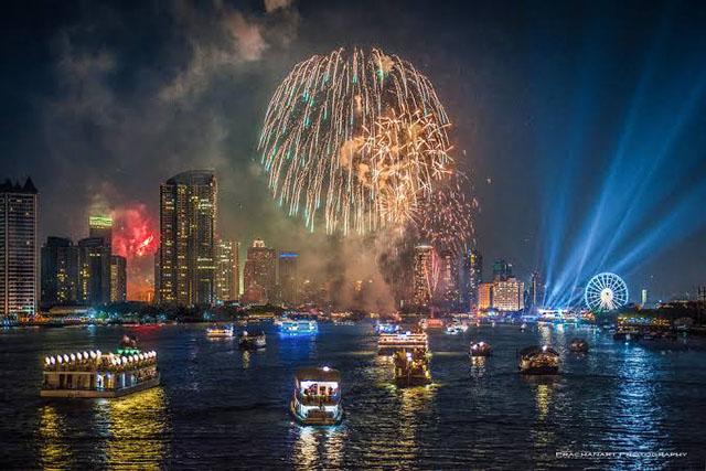 tahun baru paling meriah