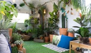 dekorasi taman indoor