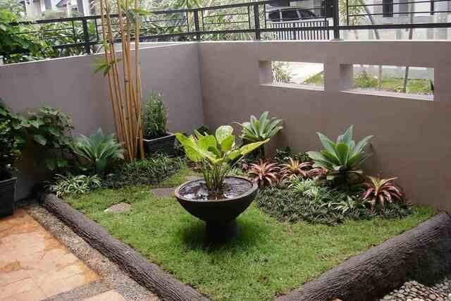 Inspirasi Taman Kecil Depan Desain Taman Depan Rumah