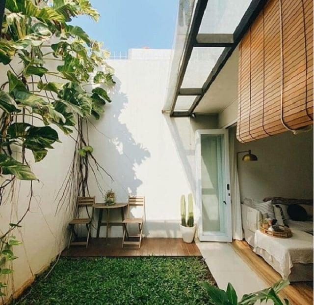 20 Inspirasi Desain Taman Minimalis Belakang Rumah Yang Asri