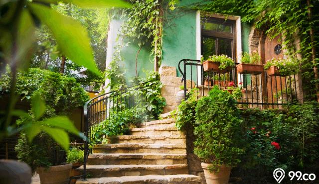 8 Inspirasi Taman Rumah Sederhana Cantik di Lahan Terbatas. Rumah Jadi Asri!