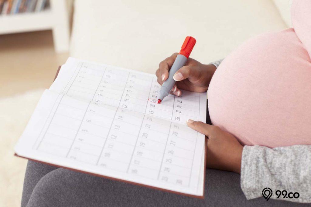 tanda hamil trisemester pertama