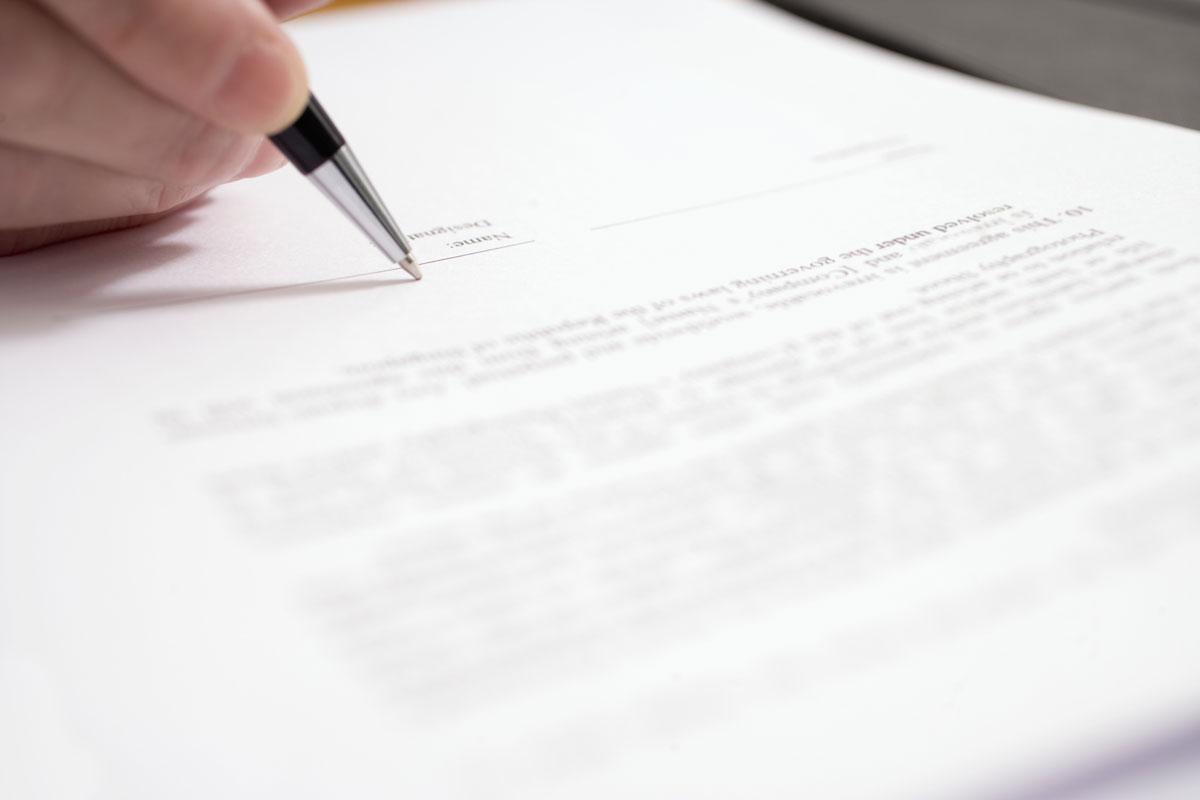 tanda tangan surat imb