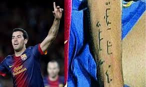 gambar tato arab pemain sepak bola