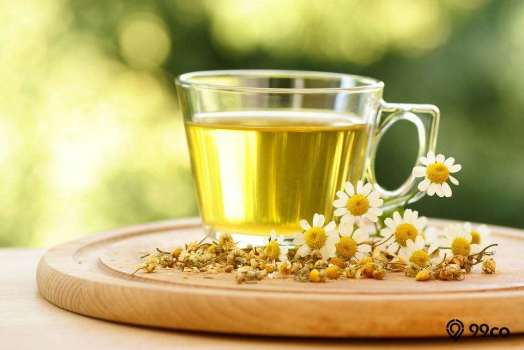 teh chamomile untuk atasi diare