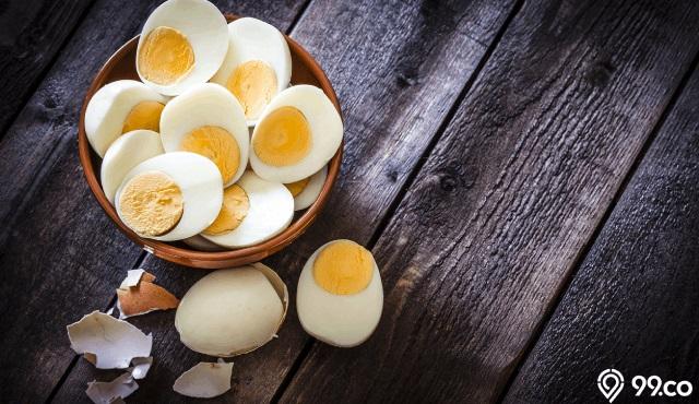 telur rebus bisa menurunkan berat badan