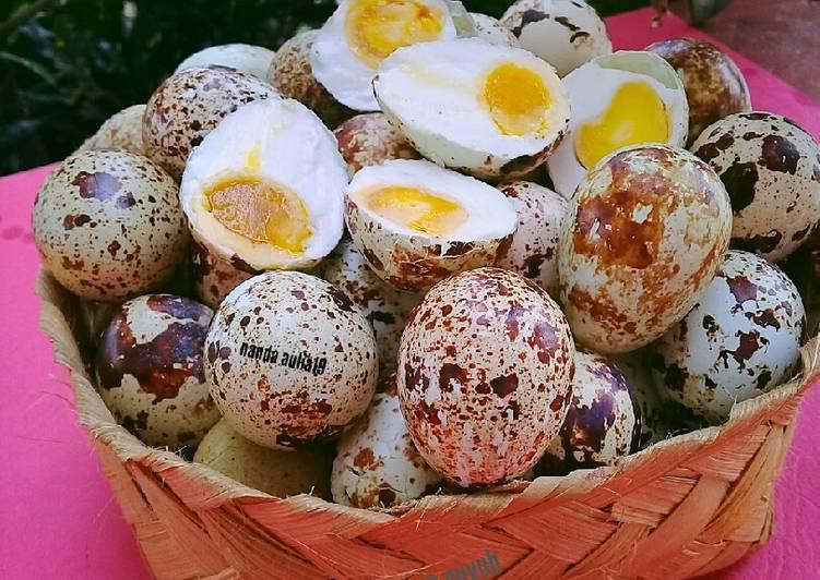 telur asin telur puyuh