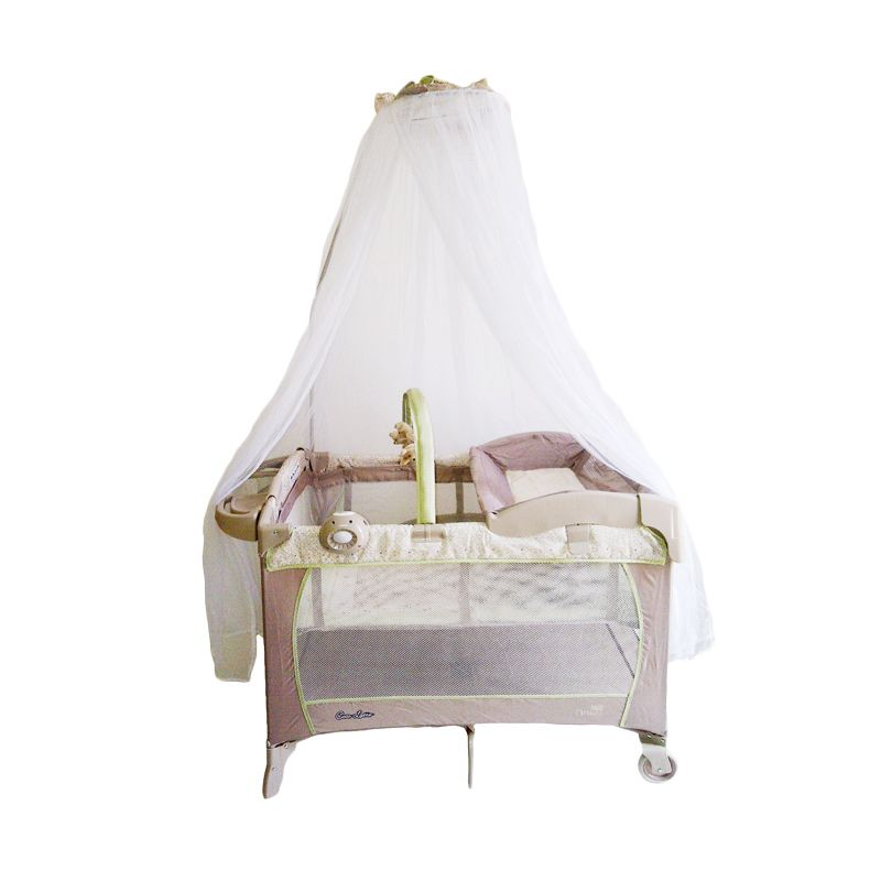 tempat tidur bayi pink