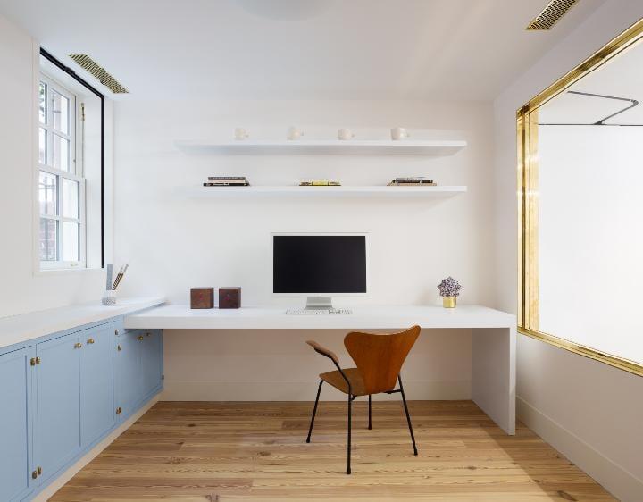 warna cat ruang kerja
