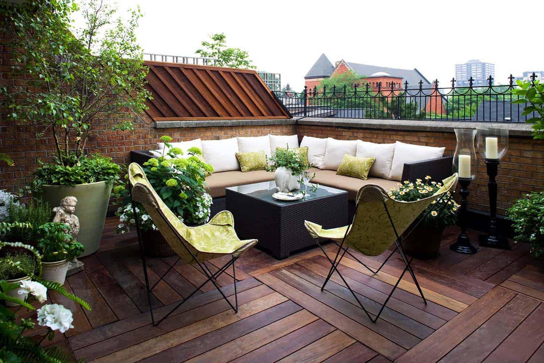 9 Desain Teras Rooftop Rumah Yang Santai Abis Seru