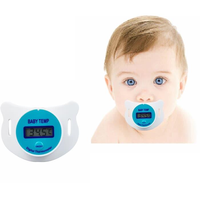 empeng dot bayi thermometer