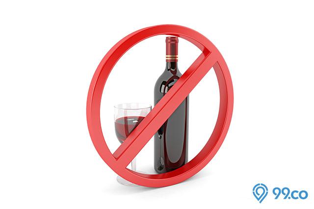 dilarang minum minuman beralkohol