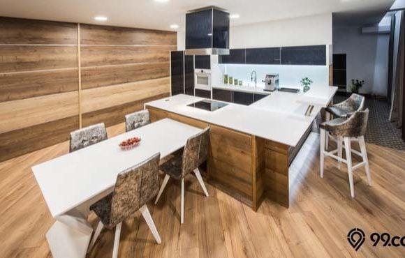 tinggi meja dapur
