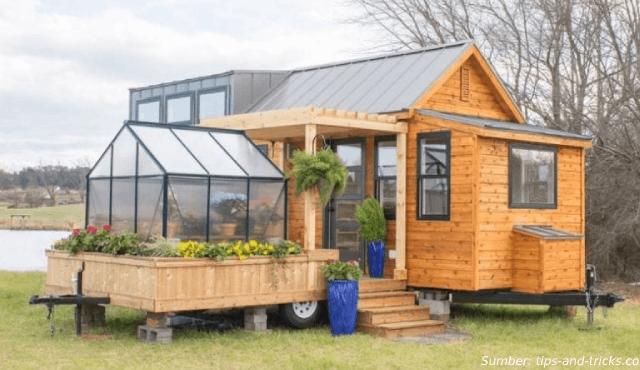 Desain Rumah Mini Ini Hanya 30 m2, tapi Dalamnya Luar Biasa!
