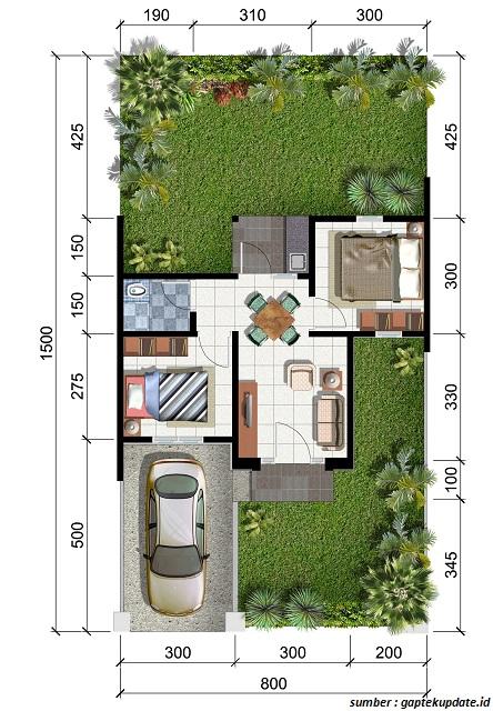 Desain Tipe Rumah Minimalis 2021 Dari Type 21 Sampai Type 70
