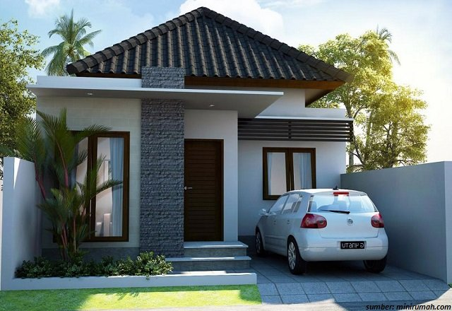 rumah minimalis cluster