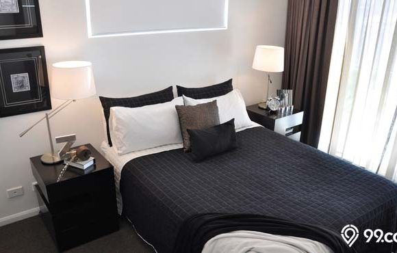 tips dekorasi kamar tidur maskulin