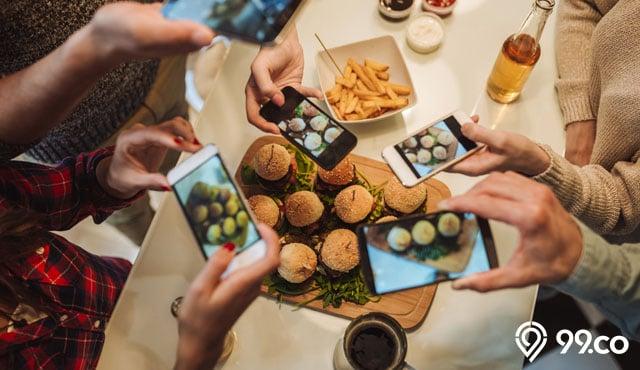 11 Tips Buat Foto Makanan Jadi Lebih Instagramable Cukup Pakai Hp