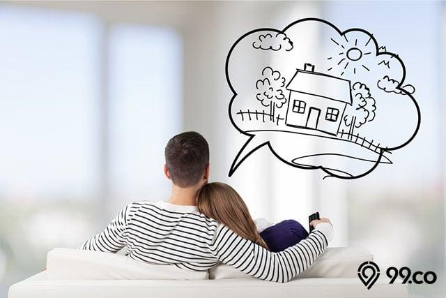 tips membeli rumah pasangan muda