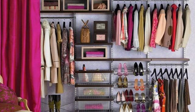 tips merapikan lemari pakaian
