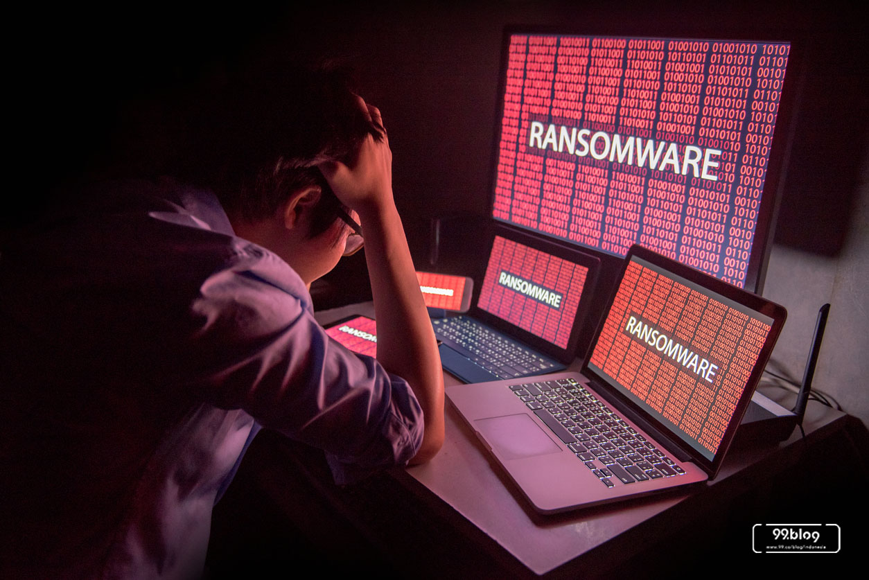 contoh kriminalitas ransomware