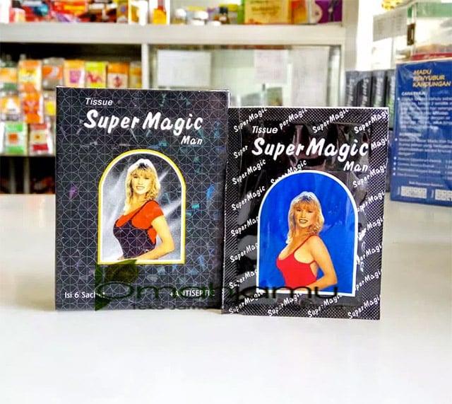 cara pakai tisu magic