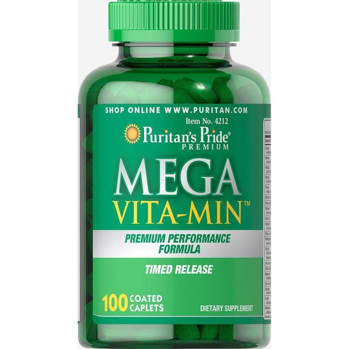 Puritan's Pride Mega Vita-Min Multivitamins