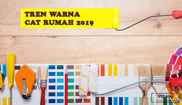 trend warna cat rumah 2019