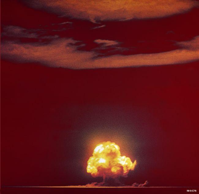 ledakan trinity blast
