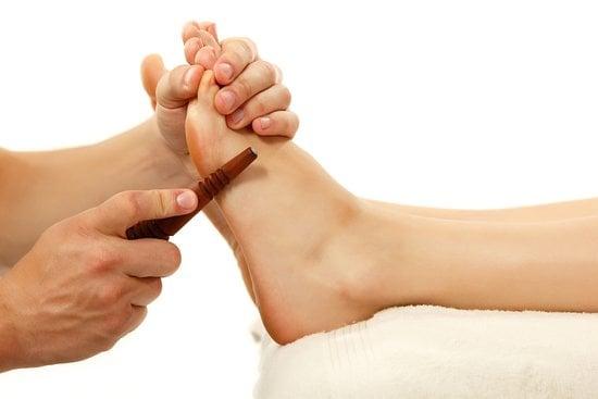 titik pijatan kaki