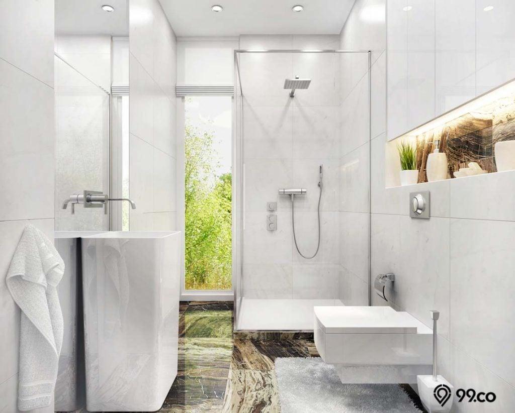 ukuran kamar mandi yang bagus