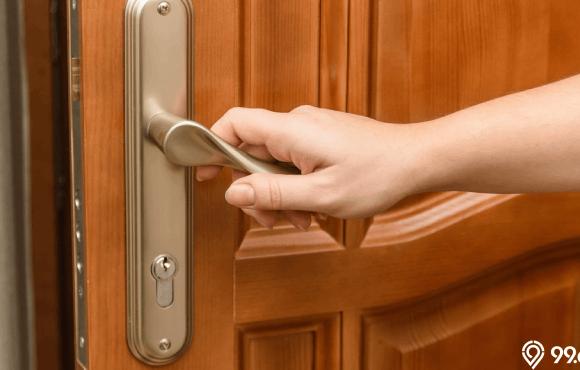 ukuran pintu rumah