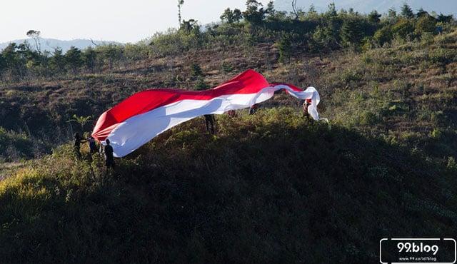 5 Upacara 17 Agustus di Indonesia dengan Pilihan Lokasi yang Unik