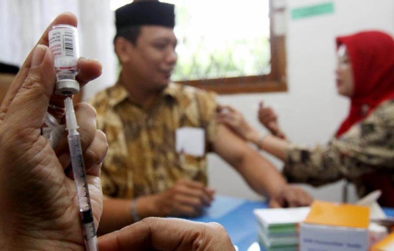 vaksin meningitis haji
