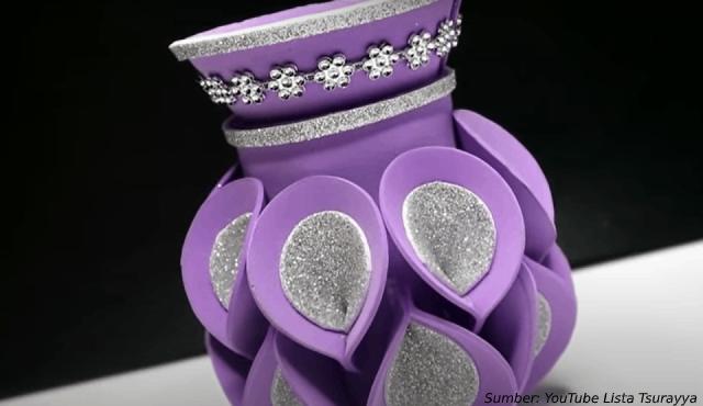 Memukau Ini Diy Cara Membuat Vas Bunga Dari Botol Plastik Bekas