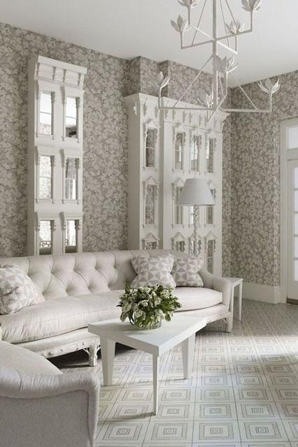 8 Inspirasi Motif Wallpaper Ruang Tamu Yang Elegan Dan Menawan