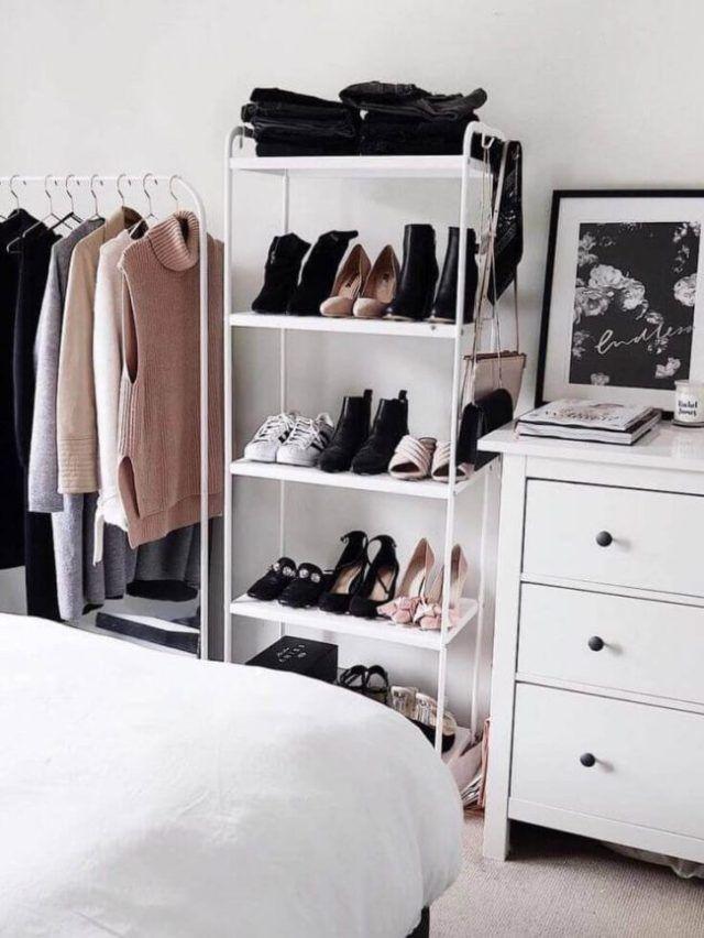 wardrobe terbuka minimalis