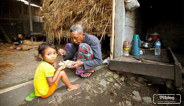 warga miskin indonesia