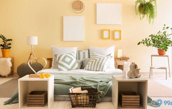 warna kamar cat tidur yang menenangkan