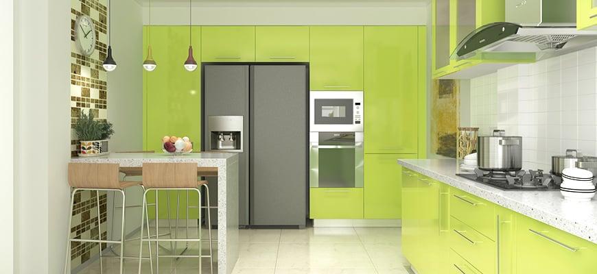 warna dapur hijau bolu pandan