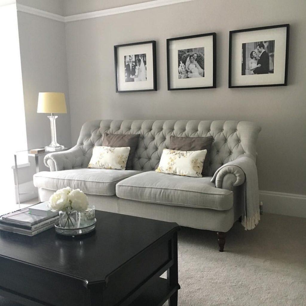 ruangan berwarna dove gray