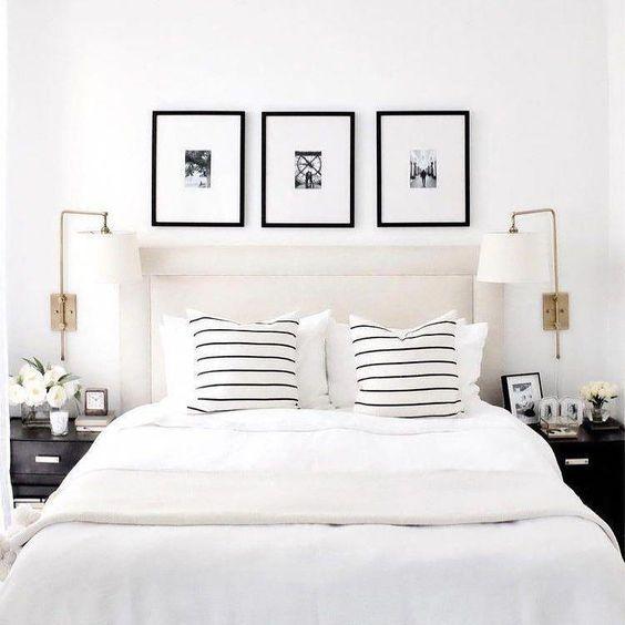 warna cat kamar putih klasik yang menenangkan